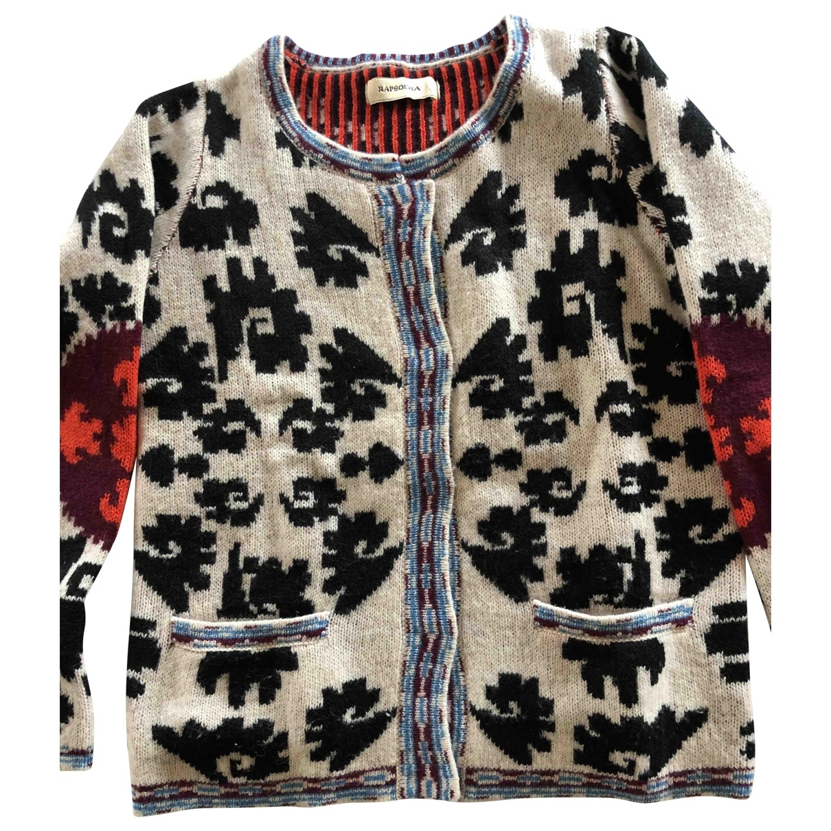 Non Signé / Unsigned \N Multicolour Wool Knitwear for Women M International