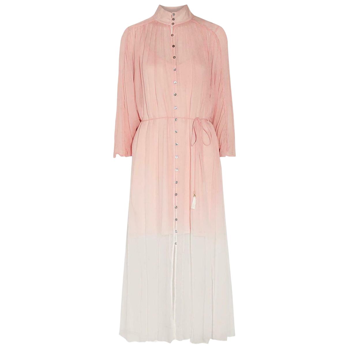 Zimmermann \N Pink Silk dress for Women 1 0-5
