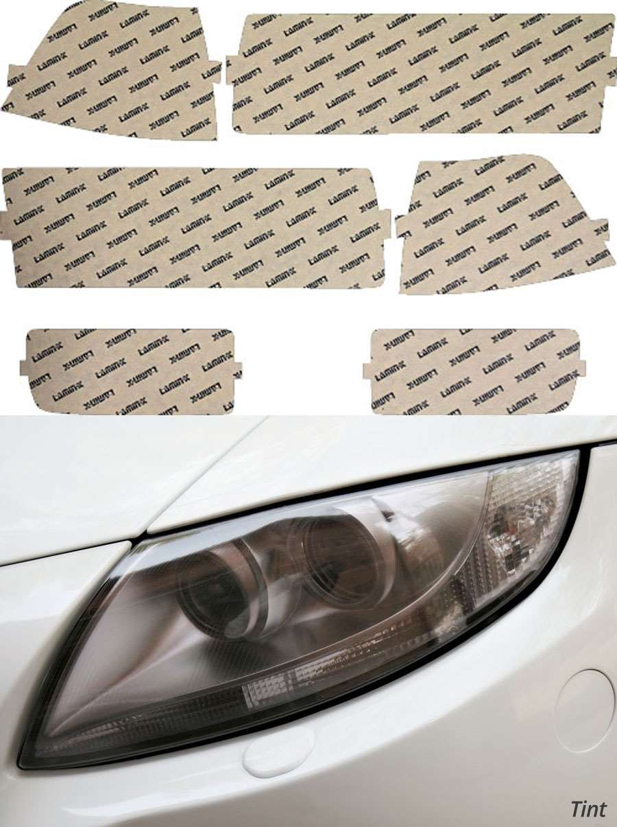 BMW 3-Series Coupe 92-99 US Tint Headlight Covers Lamin-X B201UT
