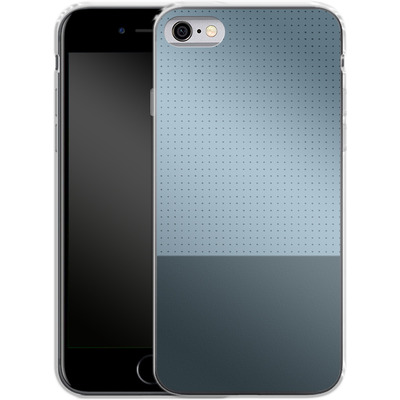 Apple iPhone 6 Silikon Handyhuelle - Dot Grid Blue von caseable Designs