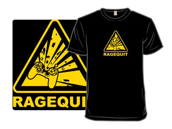 Ragequit T Shirt
