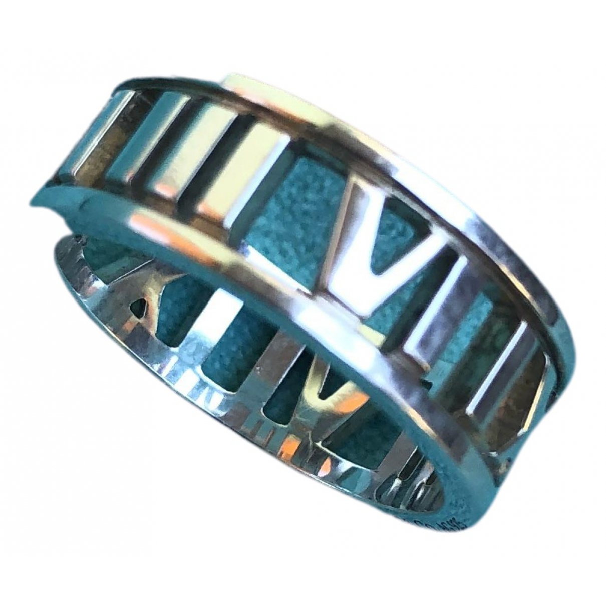 Tiffany & Co Atlas Ring in  Silber Silber