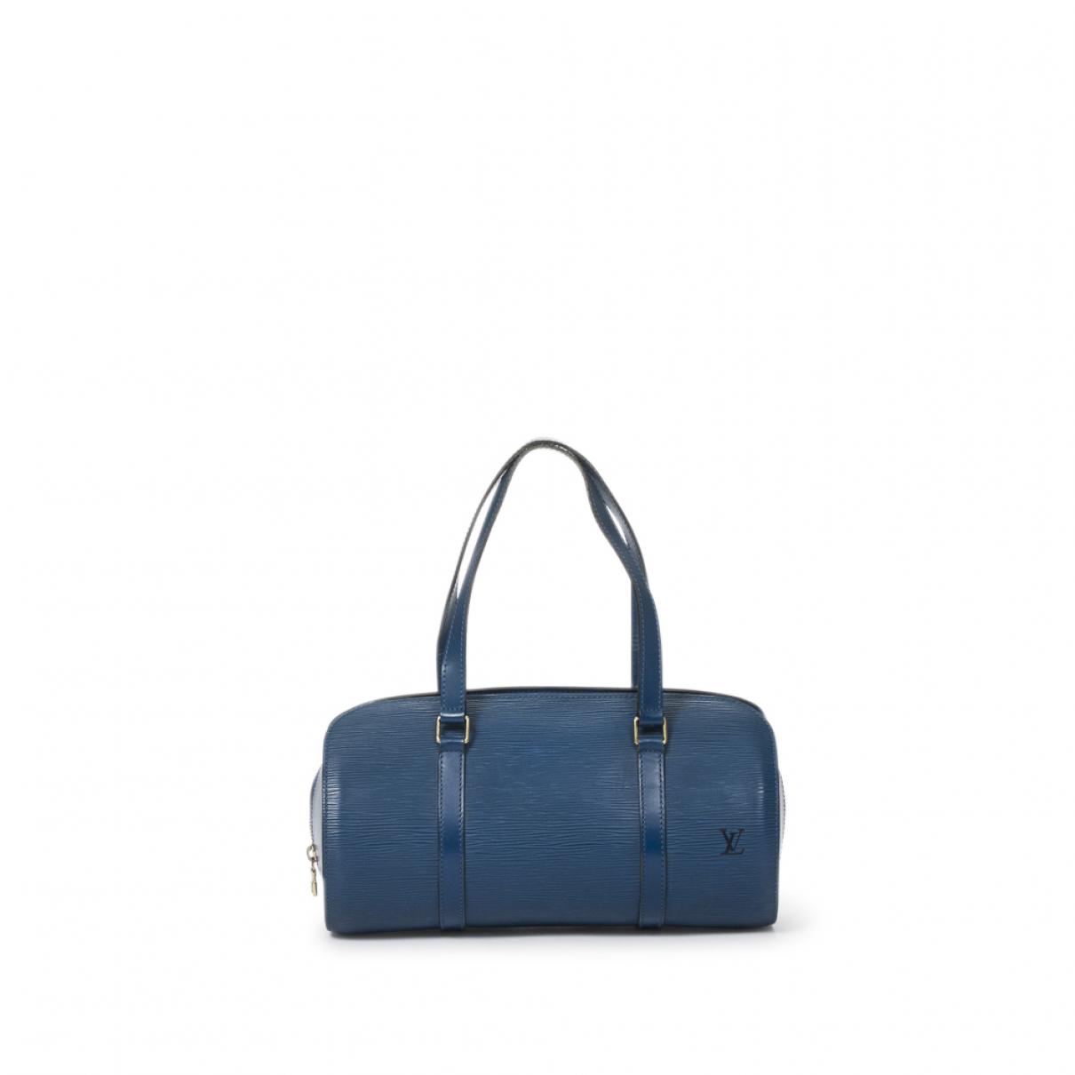 Bolso Soufflot de Cuero Louis Vuitton