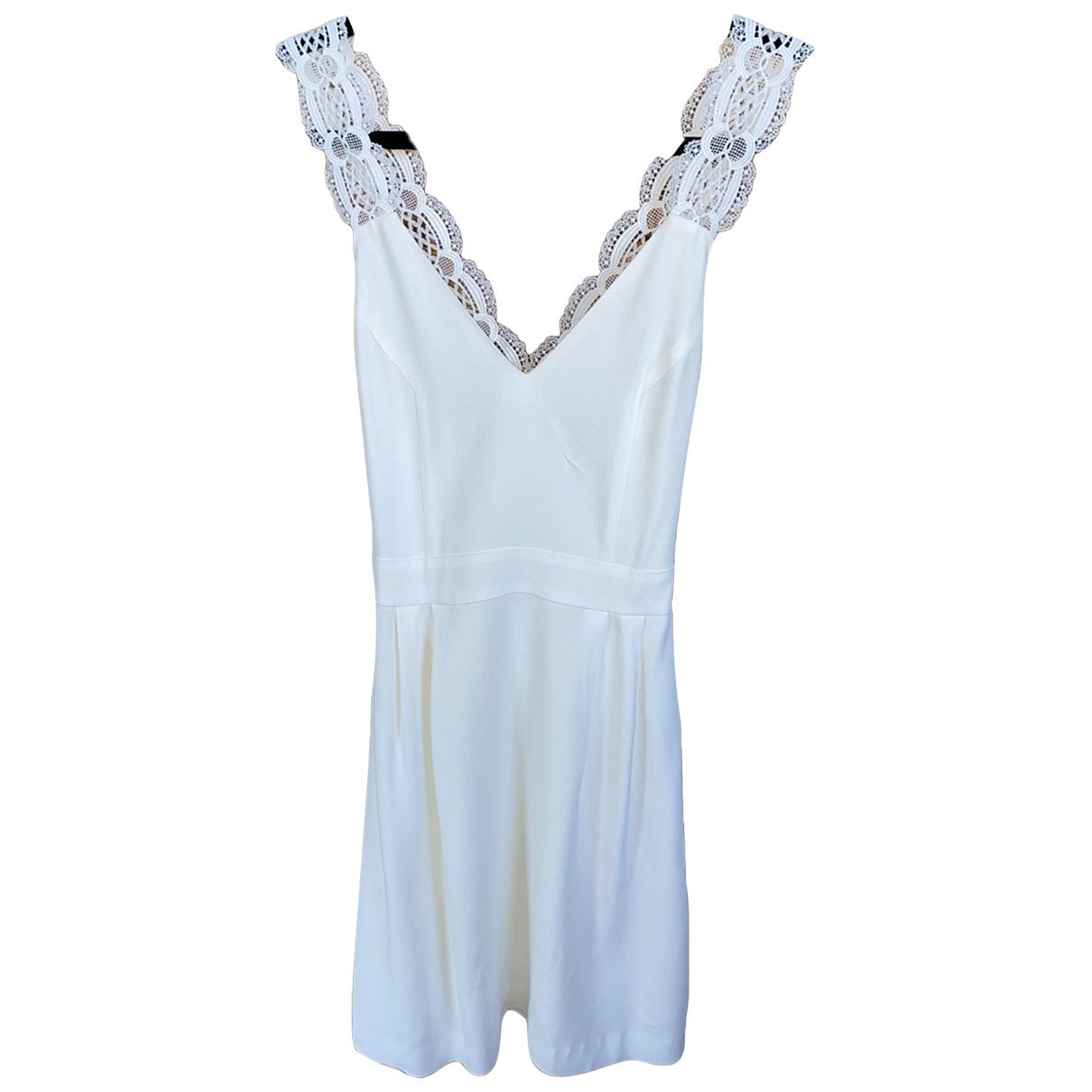 Sézane Spring Summer 2019 White Lace dress for Women 34 FR