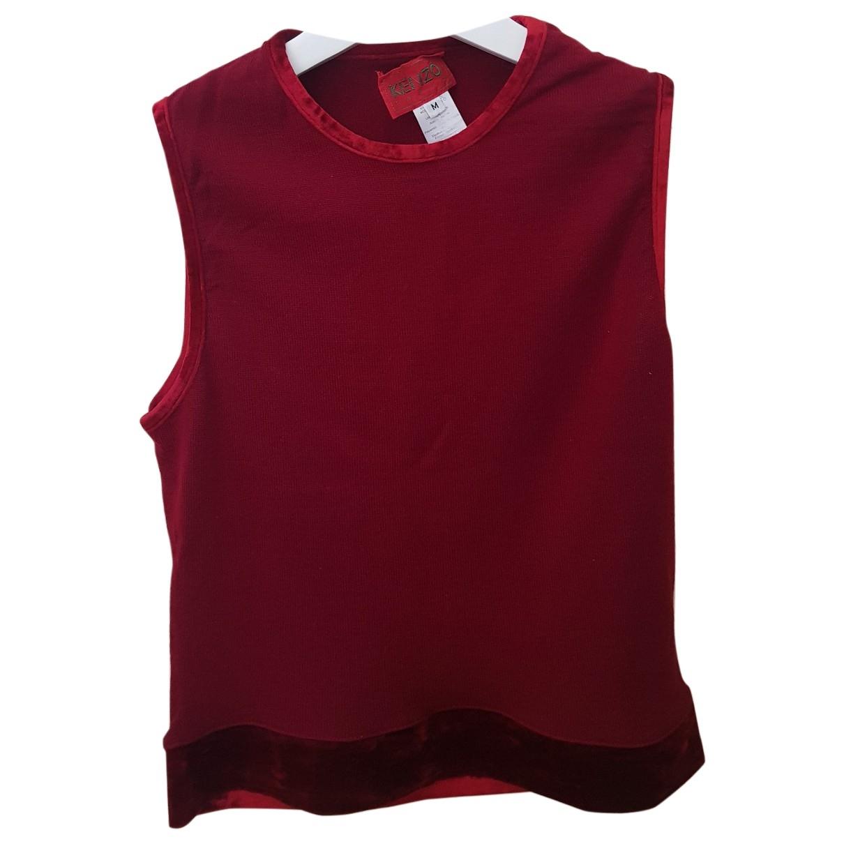 Kenzo \N Top in  Rot Wolle