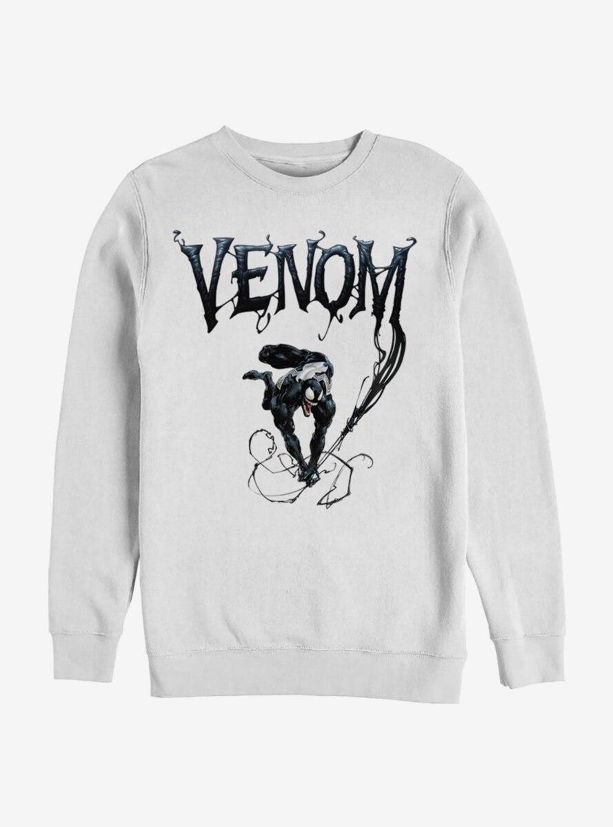 Marvel Venom Symbiote Title Sweatshirt