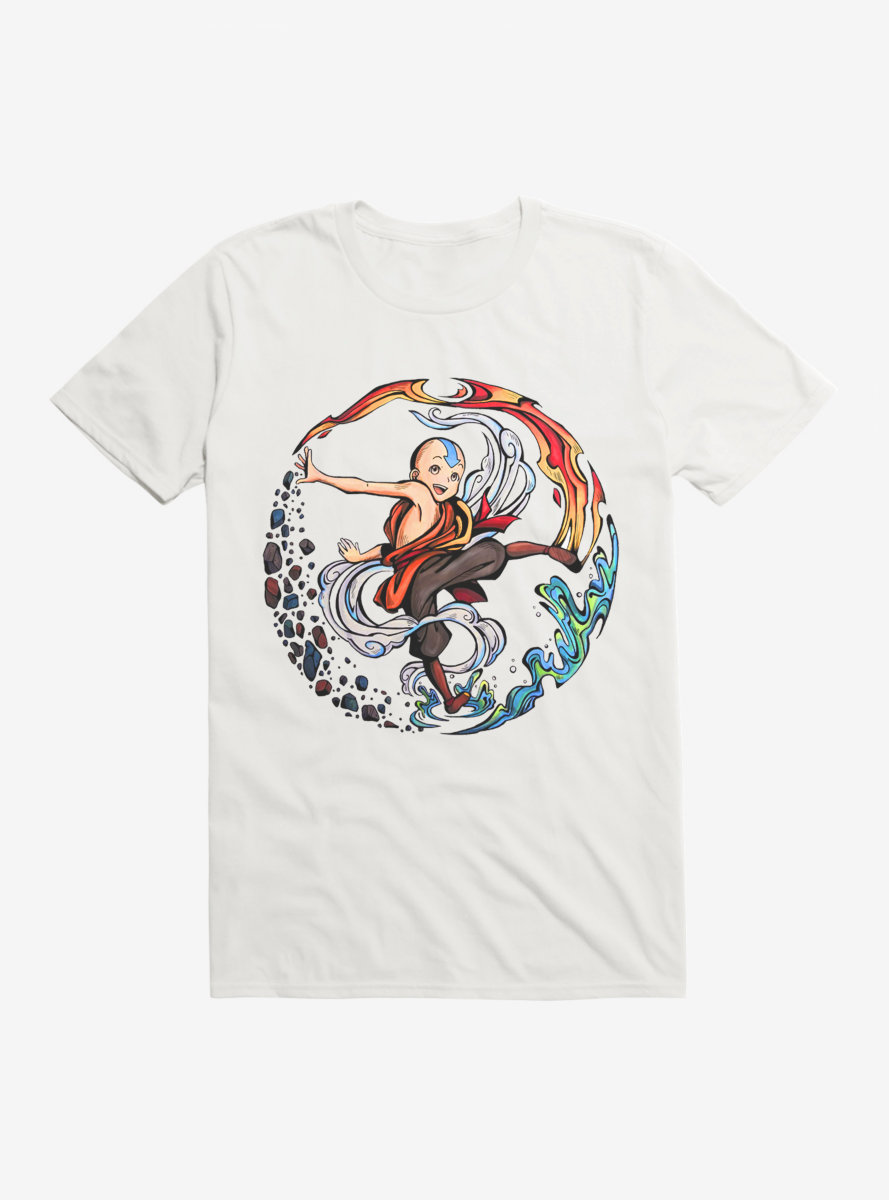 Avatar: The Last Airbender Aang The Avatar T-Shirt - BoxLunch Exclusive