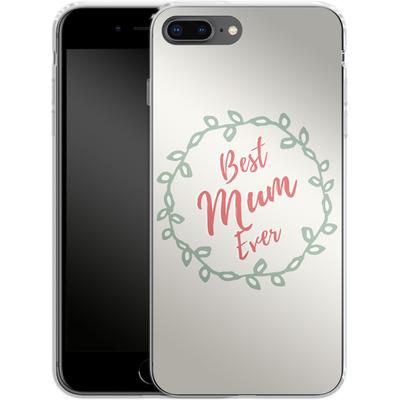 Apple iPhone 7 Plus Silikon Handyhuelle - Best Mum Ever von caseable Designs