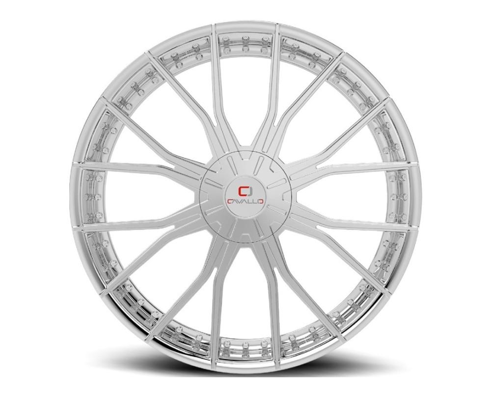 Cavallo CLV-36 Wheel 20x8.5 5x112|5x114.3 35mm Chrome