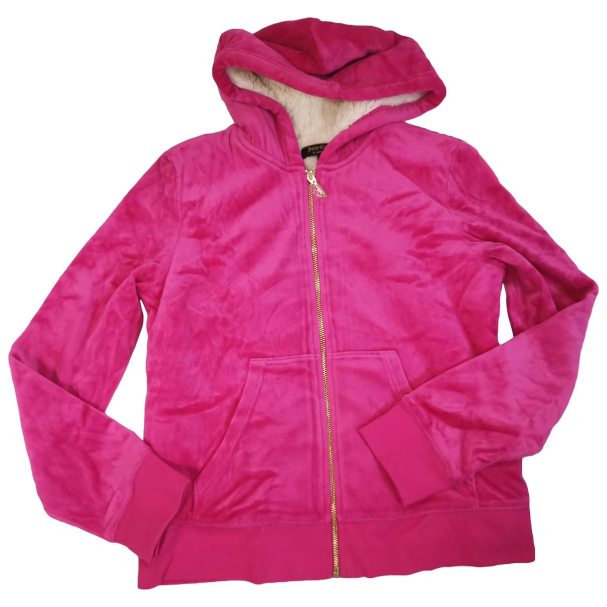 Juicy Couture - Pull   pour femme en coton - rose