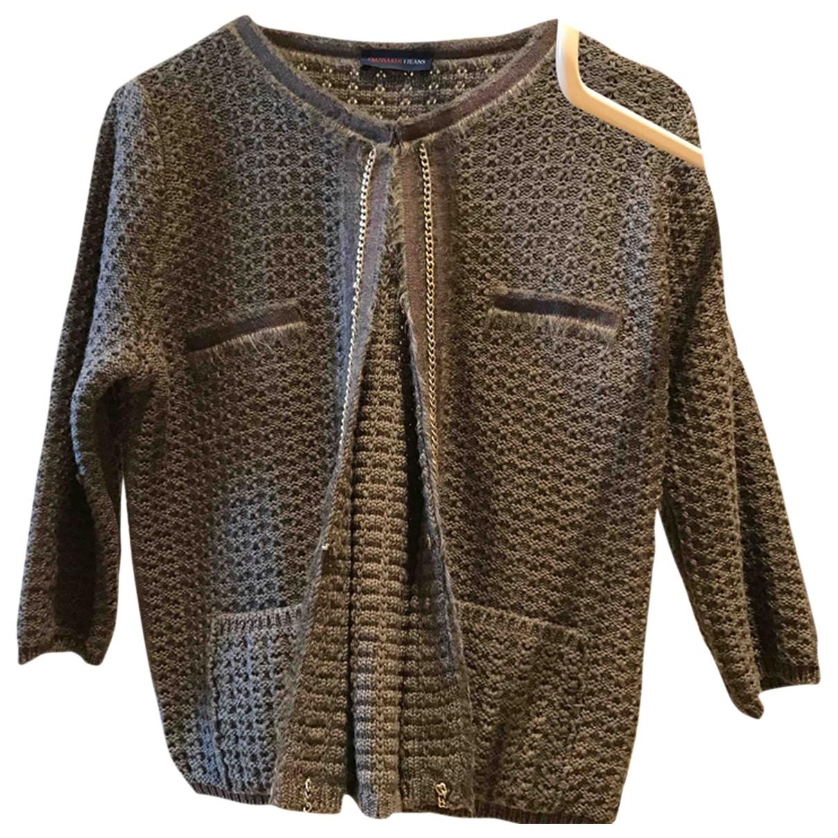 Trussardi Jean - Veste   pour femme en laine - gris