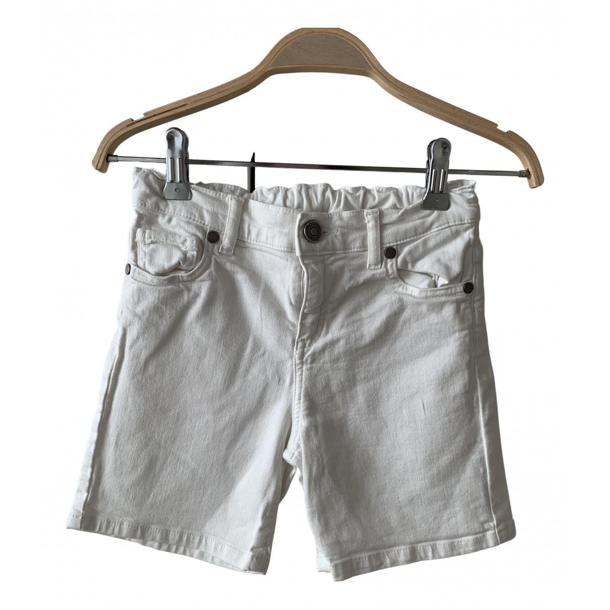 Douuod - Pantalon   pour enfant en coton - blanc