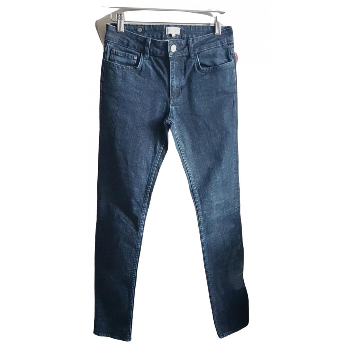 Claudie Pierlot \N Blue Cotton Jeans for Women 38 FR