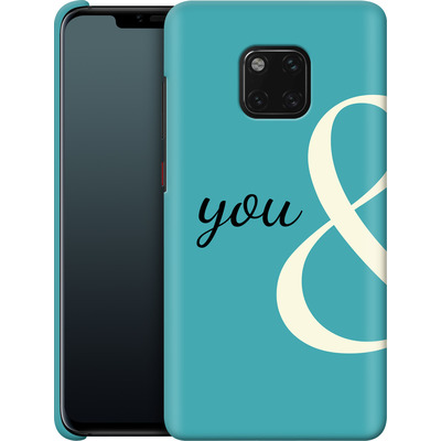 Huawei Mate 20 Pro Smartphone Huelle - You And von caseable Designs