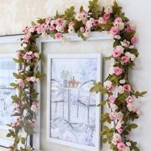 Kuenstliche Blumenrebe Dekoration 1 Stueck