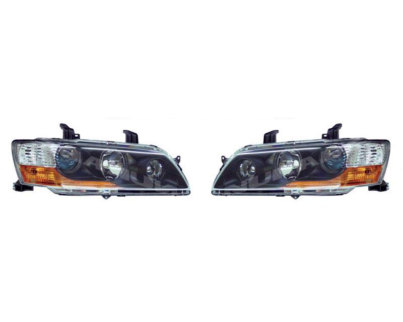 OEM MR JDM Headlights Mitsubishi M8301 A777/A778 EVO IX 05-07