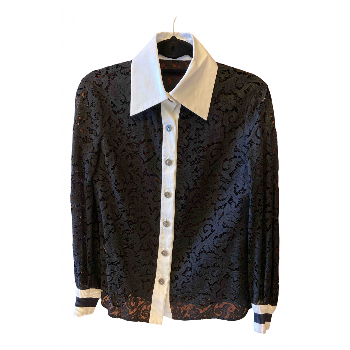 Chanel \N Black Lace  top for Women 34 FR