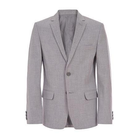 Van Heusen Flex Big Boys Suit Jacket, 12 , Gray