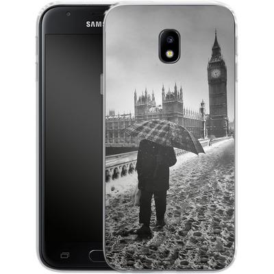 Samsung Galaxy J3 (2017) Silikon Handyhuelle - Instant Vintage von Ronya Galka