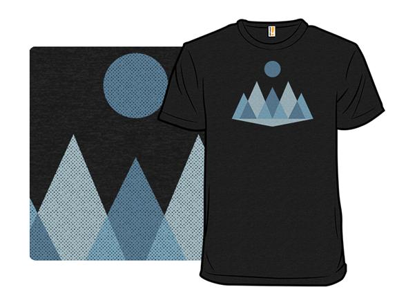 Abstract Winter Landscape T Shirt