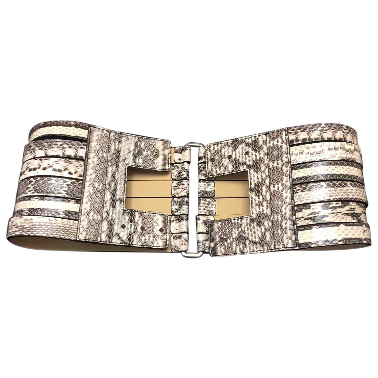 Alexander Mcqueen N Black Leather belt for Women S International