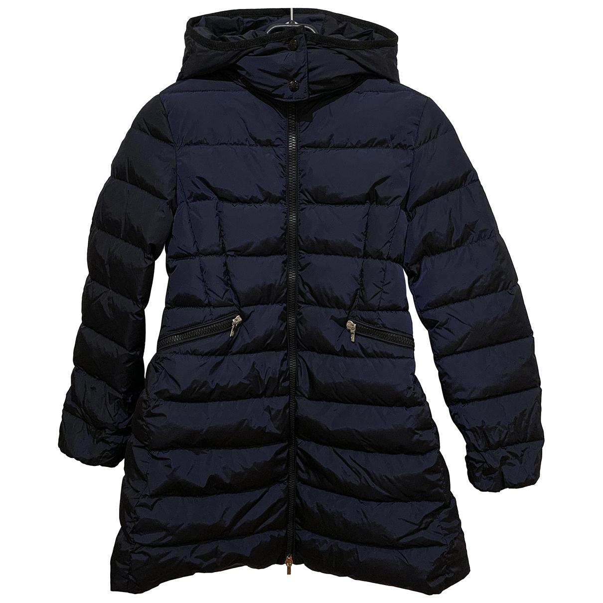 Moncler - Blousons.Manteaux Long pour enfant - bleu