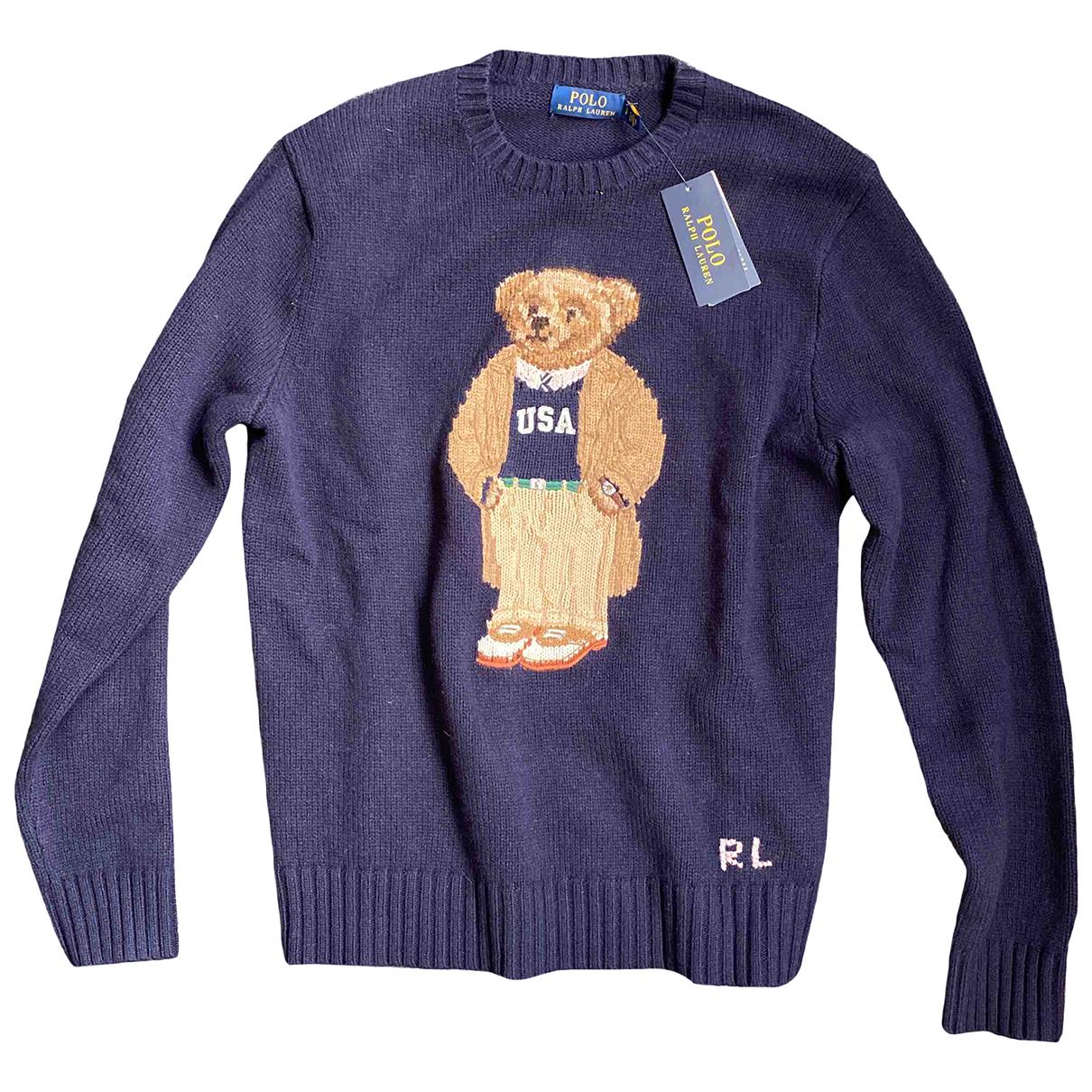 Polo Ralph Lauren - Pulls.Gilets.Sweats   pour homme en laine - bleu