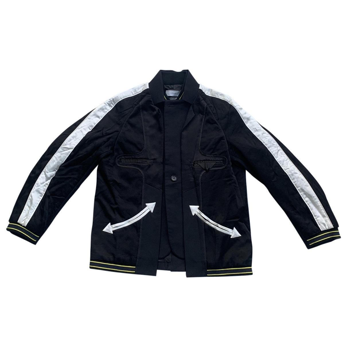 Facetasm N Black Wool jacket for Women 2 0-5