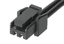 Molex Micro-Lock PLUS OTS 45111 Series Number Wire to Board Cable Assembly 1 Row, 2 Way 1 Row 2 Way, 450mm (250)