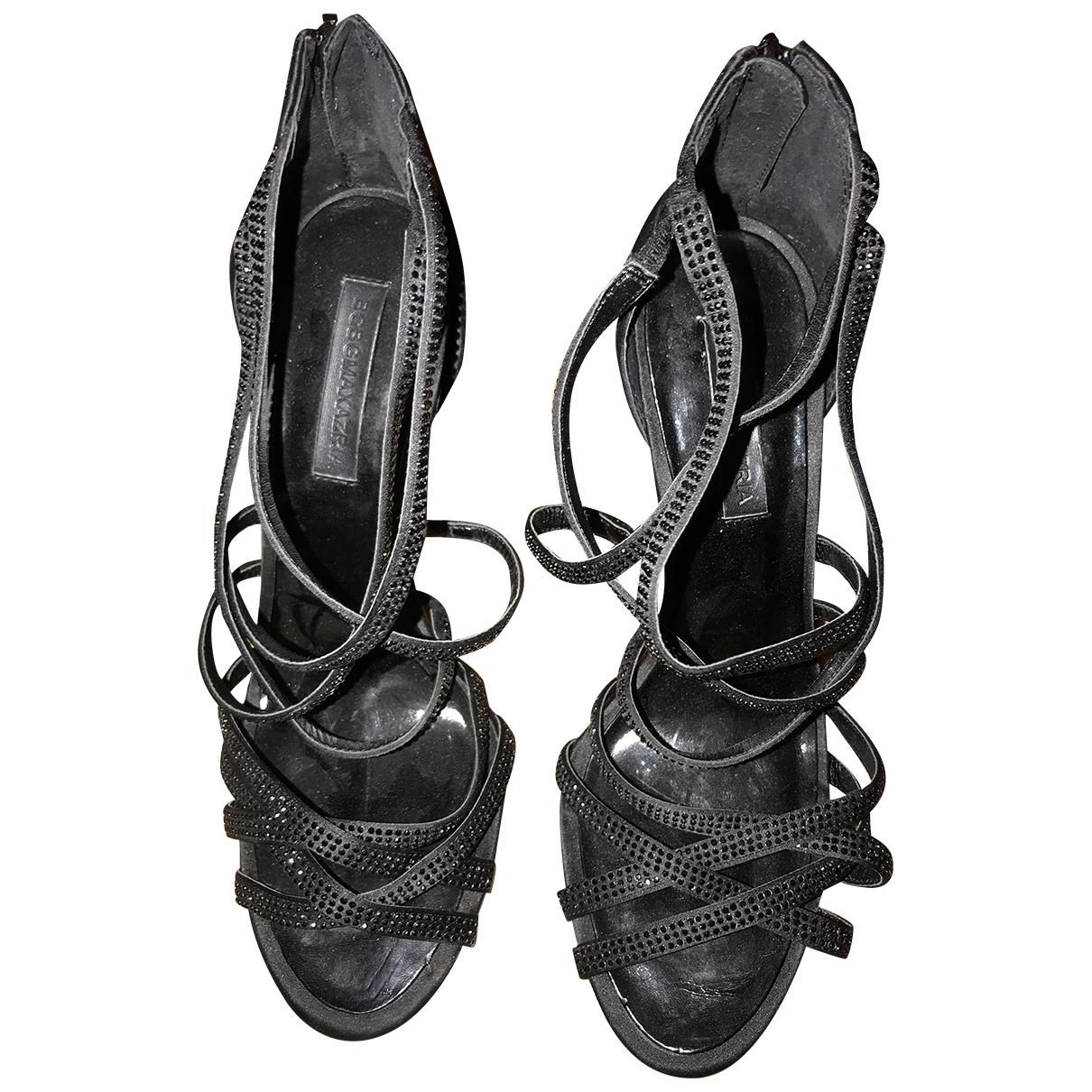 Bcbg Max Azria \N Black Sandals for Women 40 EU