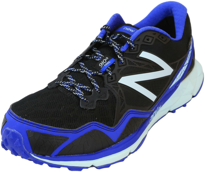 New Balance Women's Wt910 Black / Blue Low Top Trail Running - 12M