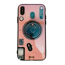3D Camera Design iPhone Case With Holder