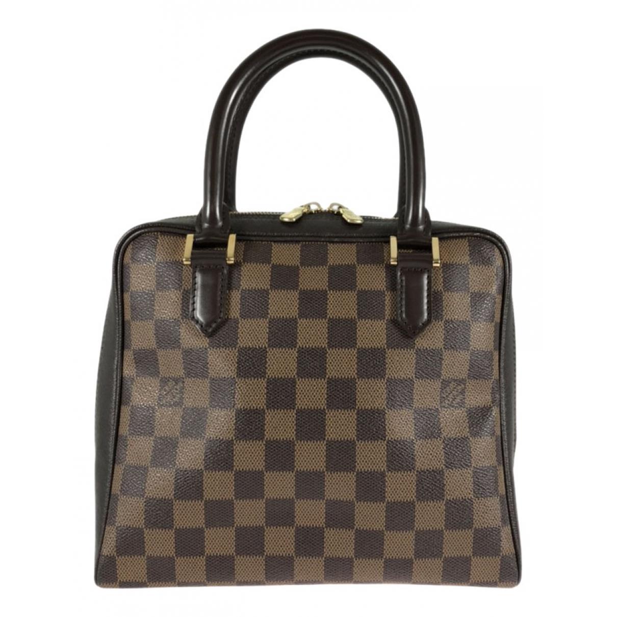 Louis Vuitton Brera Handtasche in  Braun Leinen