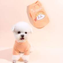 Camiseta de perro con patron sushi
