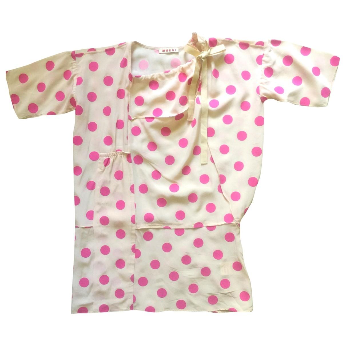 Marni \N Beige Silk  top for Women 8 US