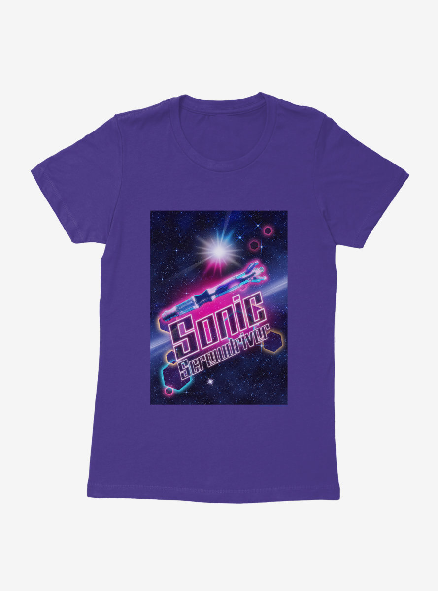 Doctor Who Future Sonic Screwdriver Womens T-Shirt