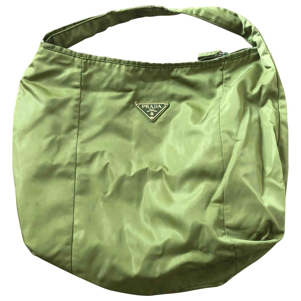 Prada \N Green handbag for Women \N