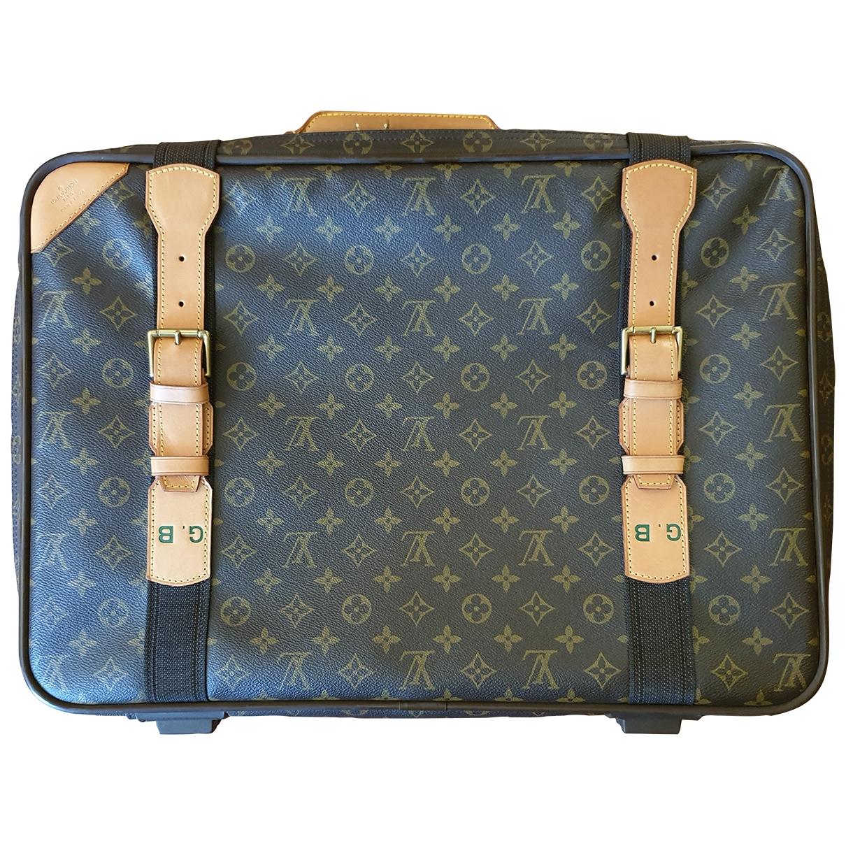 Louis Vuitton Satellite Brown Cloth bag for Men \N