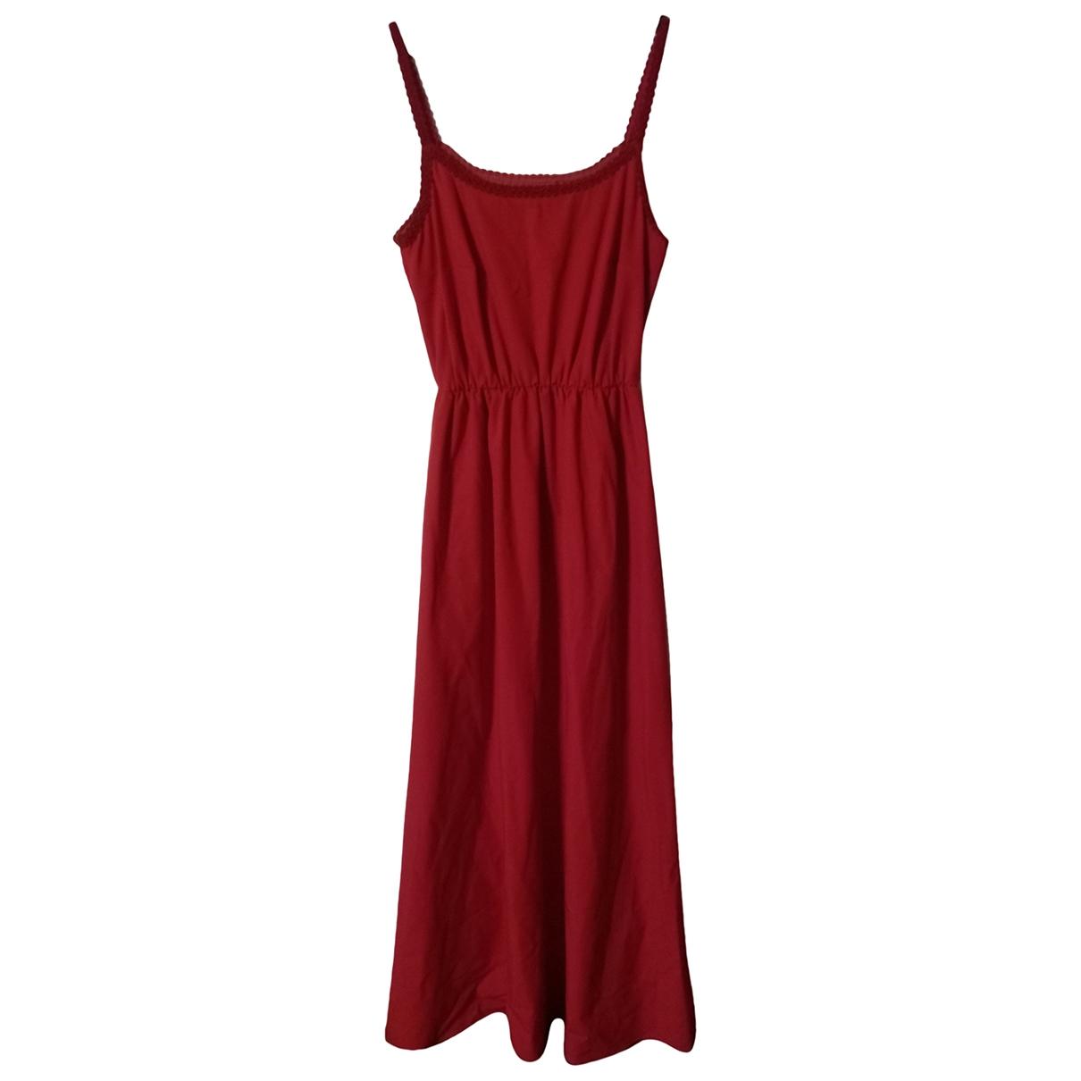 - Robe   pour femme en tweed - rouge