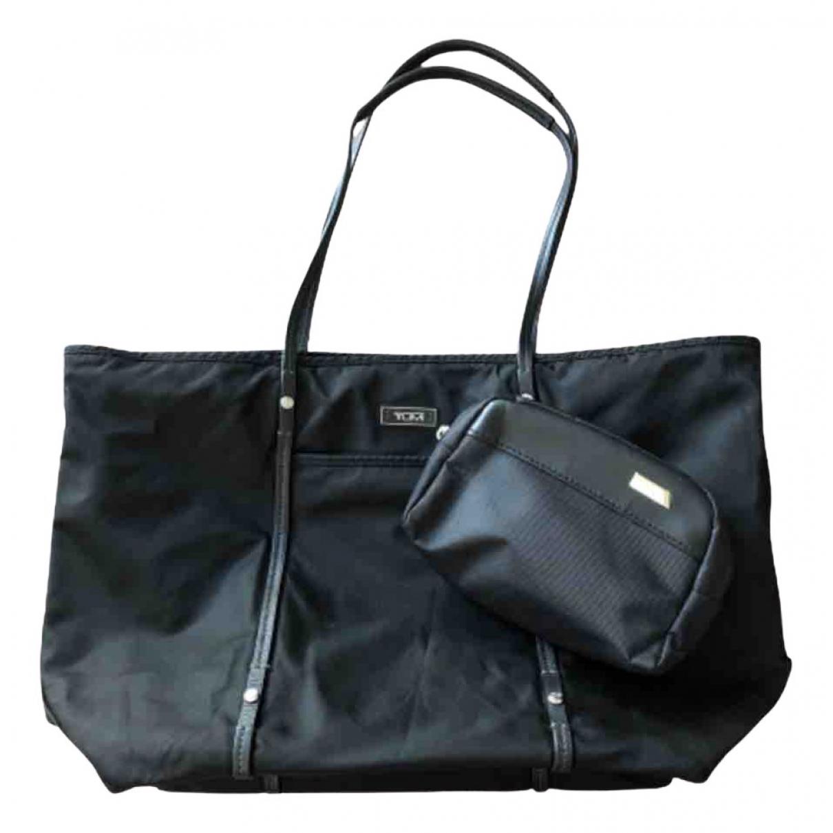 Tumi \N Handtasche in  Schwarz Synthetik