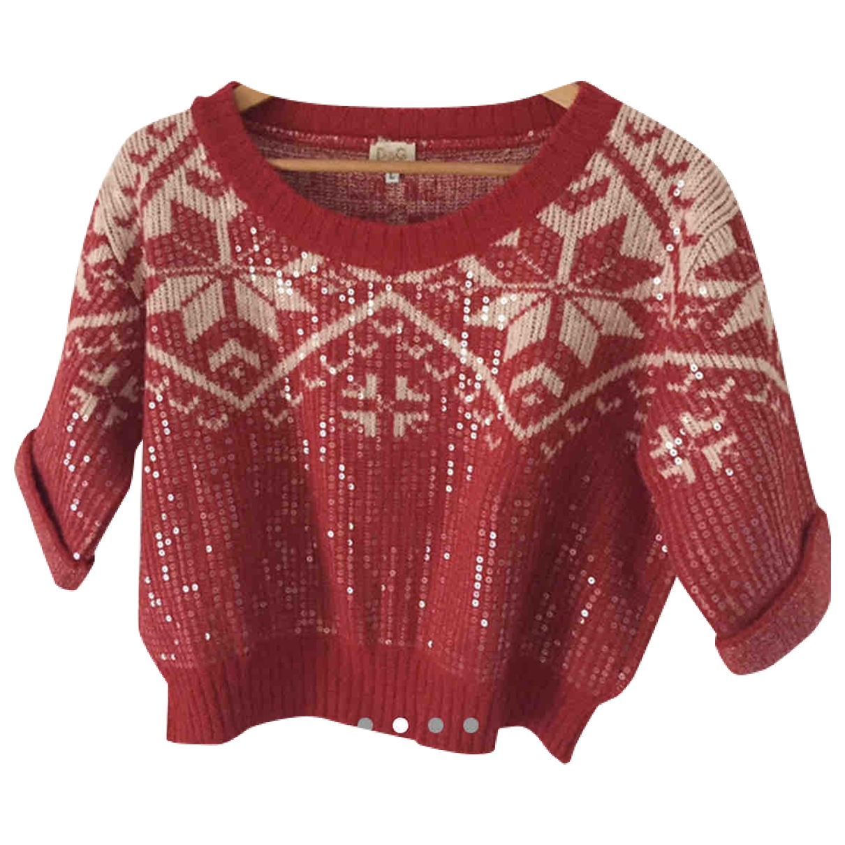 D&g \N Pullover in  Rot Wolle