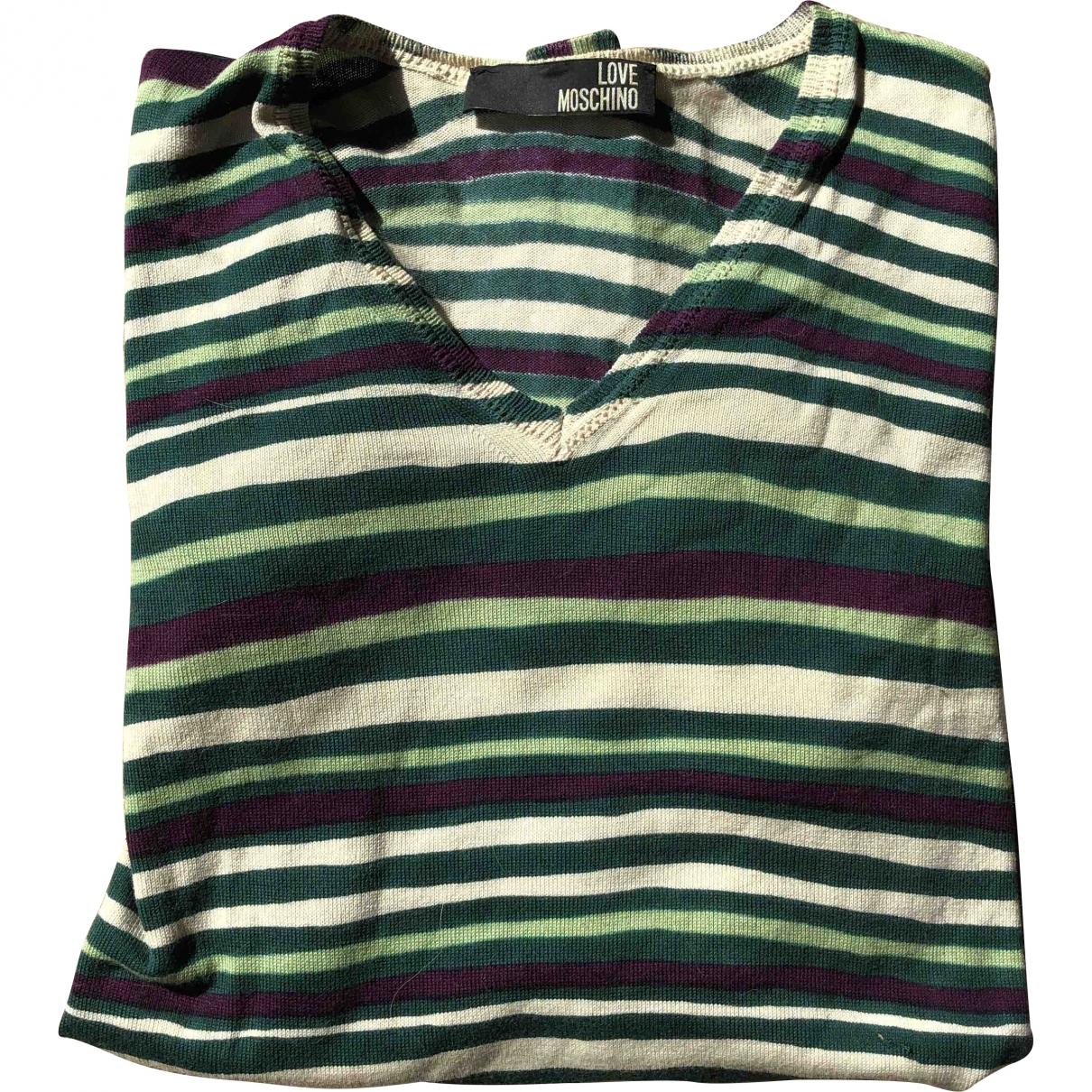 Moschino Love \N Green Cotton Knitwear & Sweatshirts for Men L International