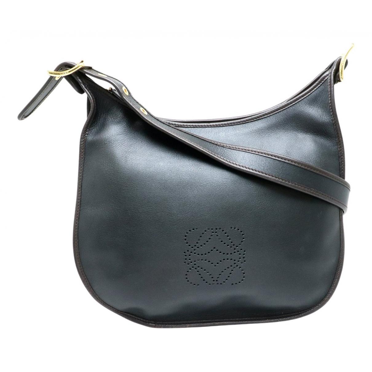 Loewe N Black Leather handbag for Women N