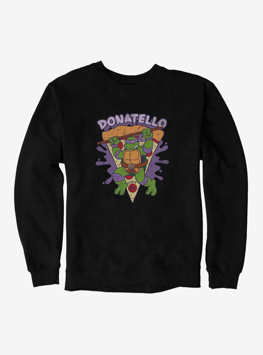 Teenage Mutant Ninja Turtles Donatello Pizza Slice Sweatshirt