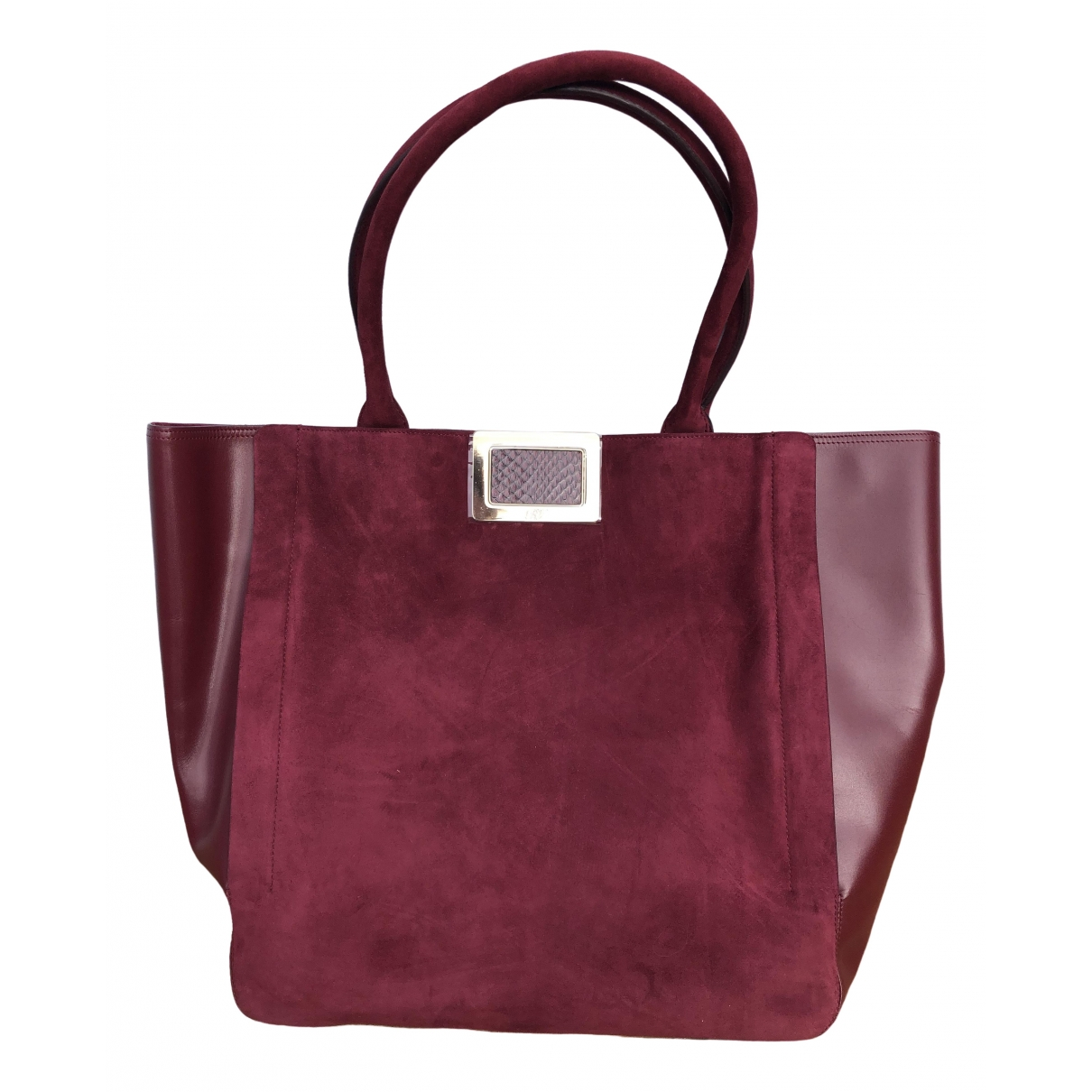 Roger Vivier \N Burgundy Suede handbag for Women \N