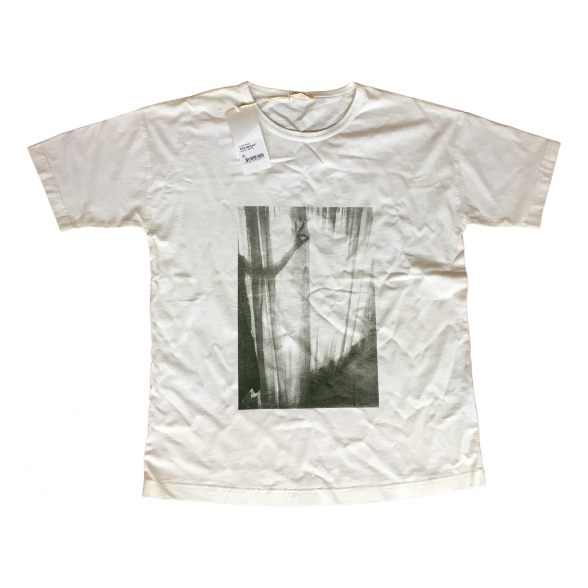 American Vintage N White Cotton  top for Women S International