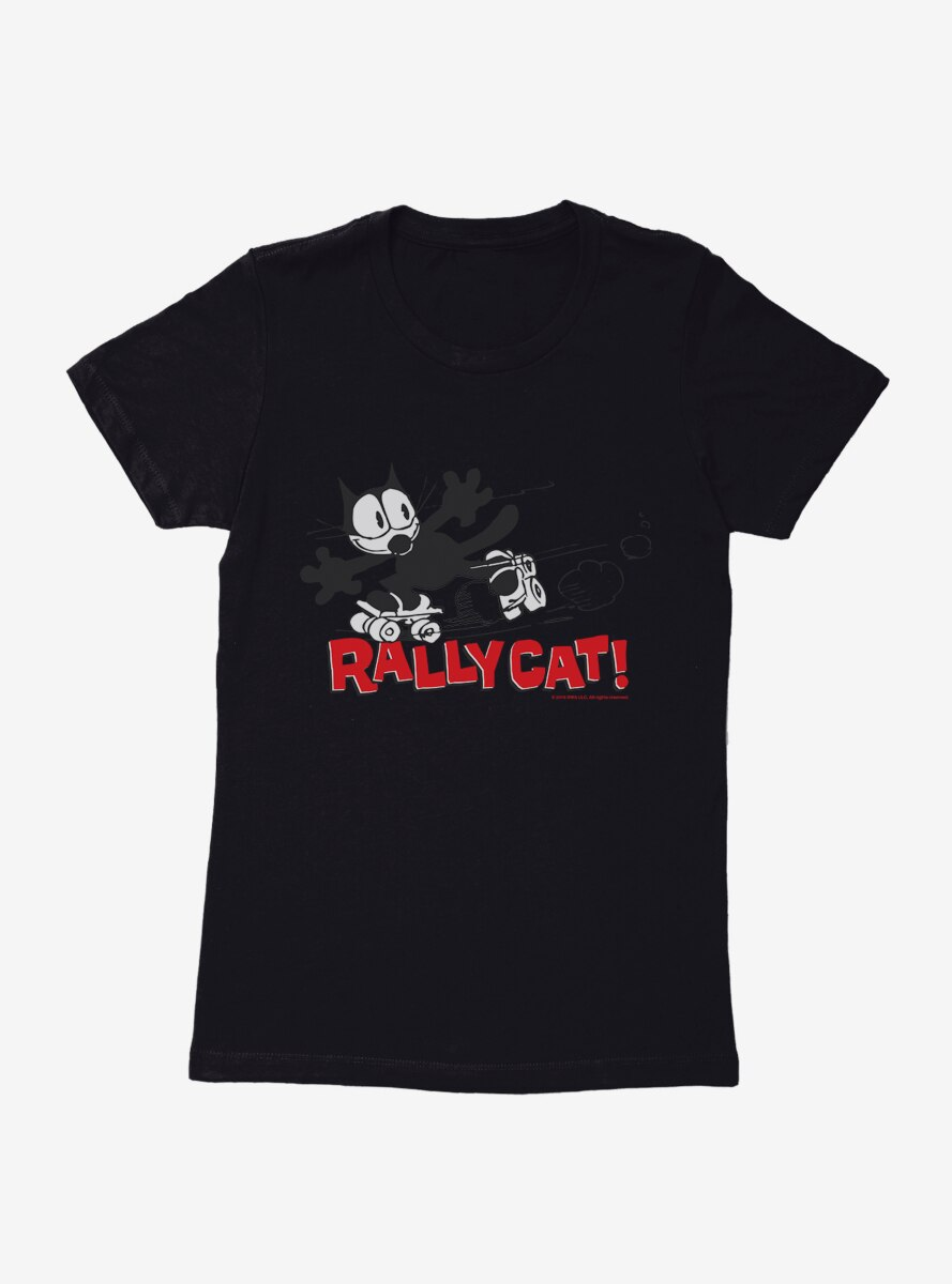 Felix The Cat Rally Cat Womens T-Shirt