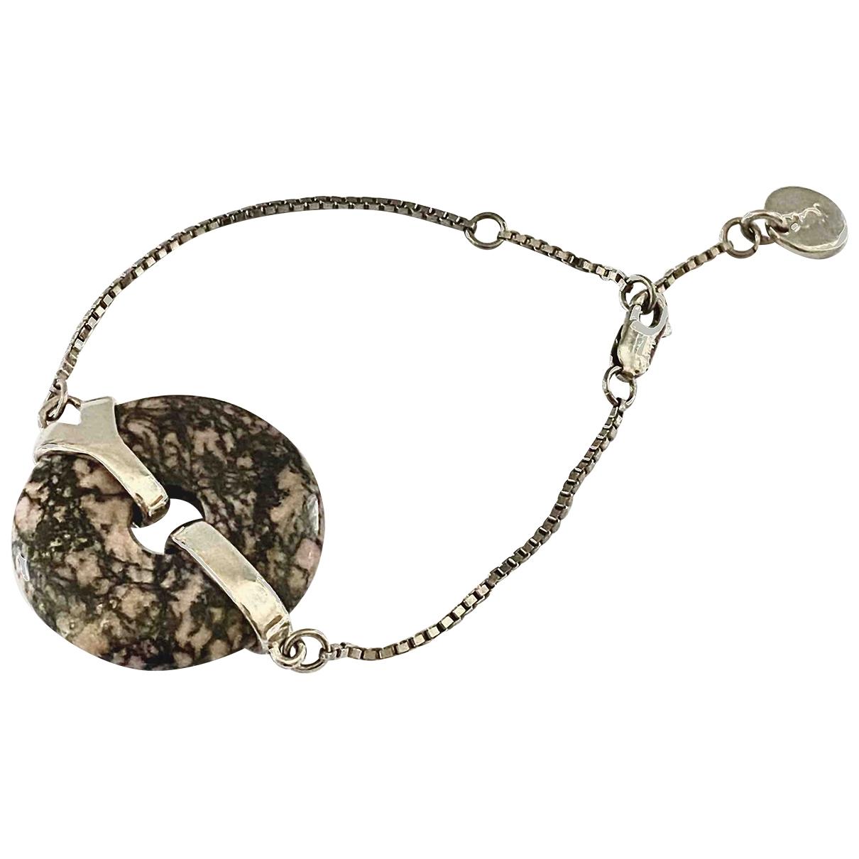 Yves Saint Laurent \N Silver Steel bracelet for Women \N