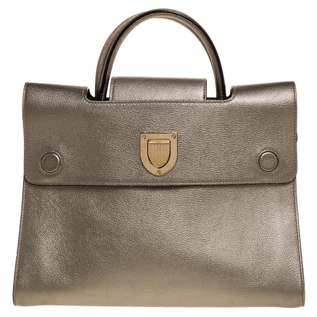 Dior N Metallic Leather handbag for Women N
