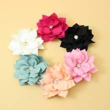 6 Stuecke Maedchen Haarklammer mit Blumen Dekor